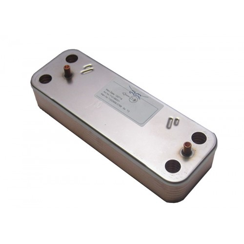 Теплообменник ГВС на 14 пластин ( DHW PLATE EXCHANGER 14 PLATES 5686680 ) 710676602