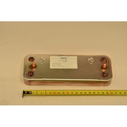 Теплообменник ГВС на 10 пластин ( DHW PLATE EXCHANGER 10 PLATES 711612600 ) CSE462243541