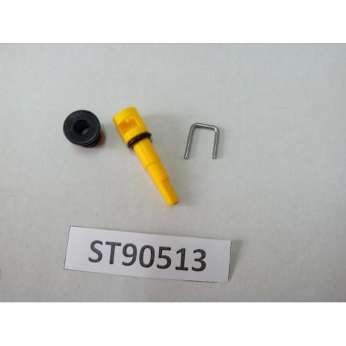 Переключатель температуры воды 13Л-желтый, Арт. ST90513