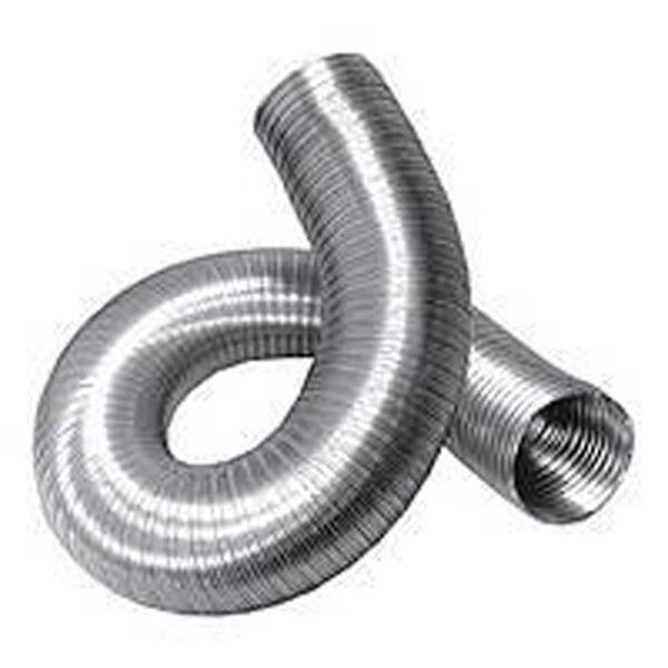 Алюминиевый гофрированный воздуховод d=110 мм