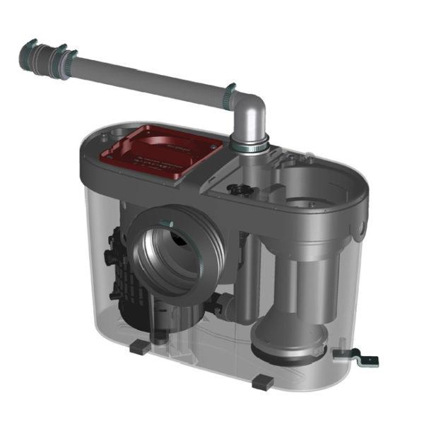 Комплект для поддержания постоянного давления со скважинным насосом Grundfos SQE 2-55