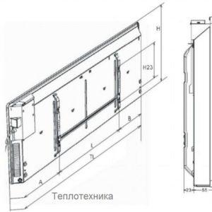 Декоративная рулонная решетка Алюминий с бесцветным анодированием (20х200х1000)