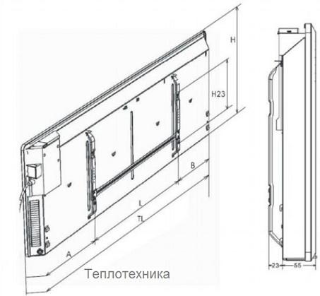 Электрический конвектор Stiebel Eltron CNS 75 S