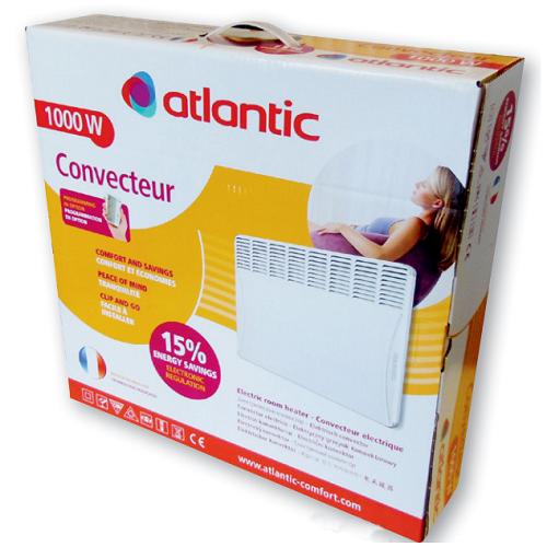 Электрический конвектор Atlantic F117 Design 1000W